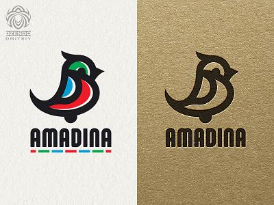 Small Bird Logo vector design animal beautiful logotype identity brand logo funny colorful small bird