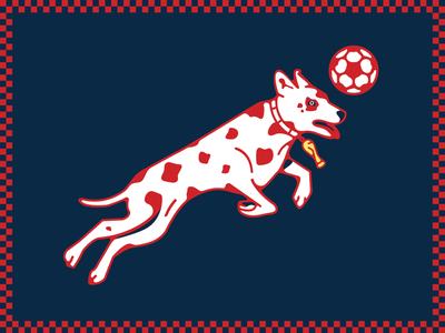Croatian Dalmatian Illustration