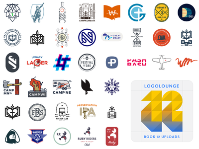 LogoLounge Book 12 Submissions logomark logotype logos badge lockup logo