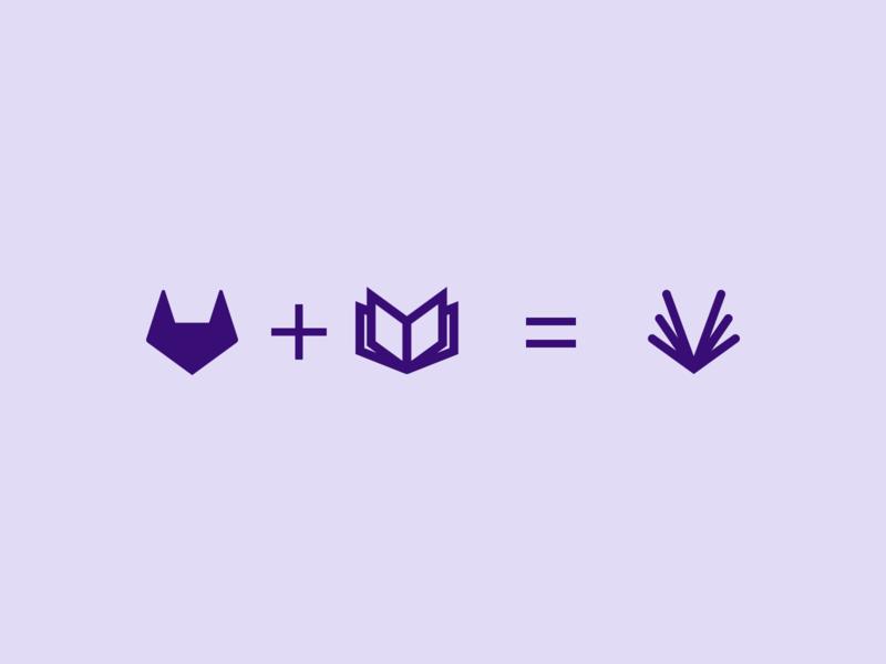 GitLab Docs favicon concept tanuki icon favicon tab browser book git gitlab