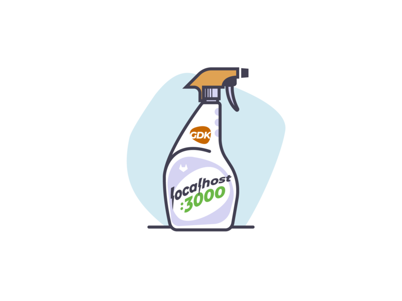 localhost:3000 ⚡️ gitlab localhost cleaner bottle spray