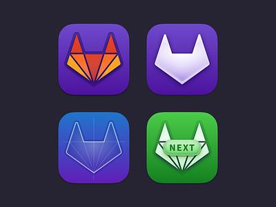 GitLab icons figma tanuki macos big sur macos iconography gitlab icon