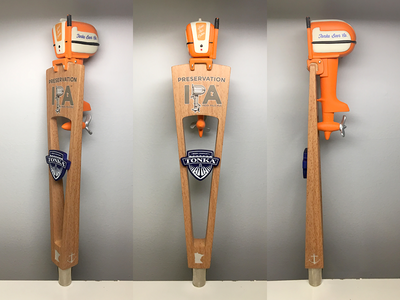 Tonka Tap Handle brewery tap handle beer