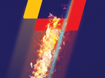 LIFEHACK Flame affinityphoto affinity designer fire poster