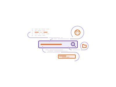 Search line art linework illustration spot illustration search