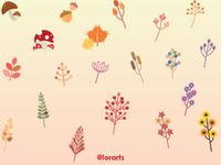 Autumn Leaf Background Pattern