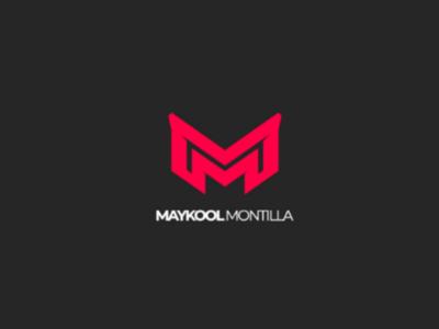 Logo Maykol Montilla branding brand logo design graphicdesign graphic dribbble minimalist flat ilustración vector photoshop illustrator web ui
