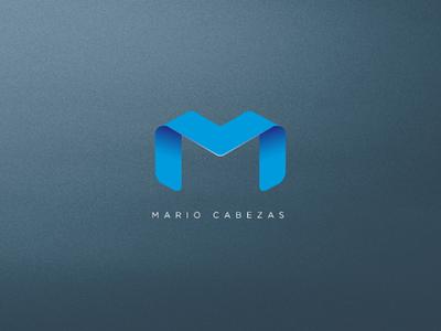 Logo Mario logotype behance dribbble illustrator photoshop branding brand type ui flat monogram graphicdesign graphic logodesign logo