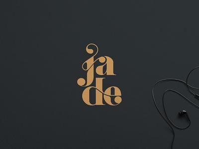 Jade logo monogram logotype dribbble graphicdesing branding brand typography logo illustrator graphic design