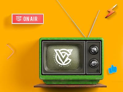 creador de video icon behance illustration ui vector monogram photoshop branding design logo