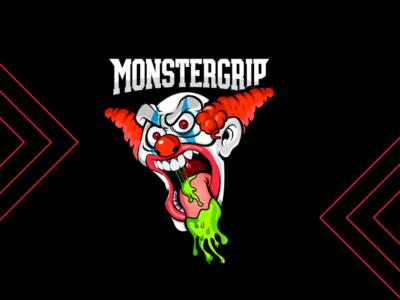 Logo monstergrip arte photoshop illustrator minimalis pukie type typographic logotype dribbble graphicdesing logo