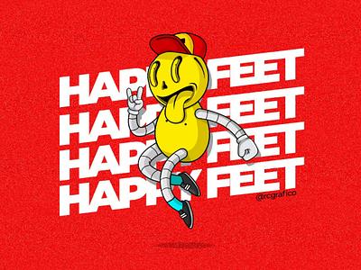 Ilustración logo graphicdesing character