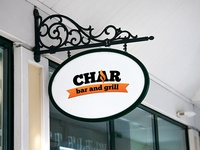 Char Bar and Grill Logo