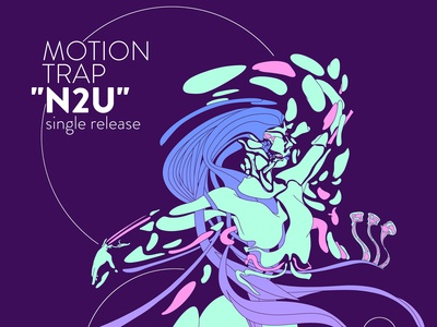 Motion Trap N2U Single Release Event Poster