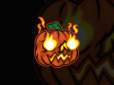 Flammin' Pumpkin