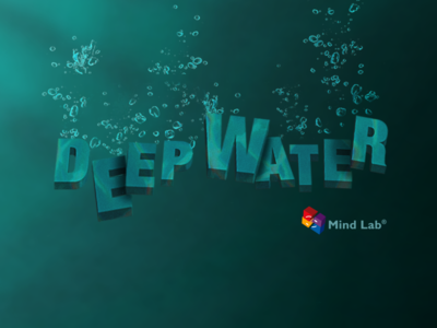 Deepwater Game Logo mindlab logo android water bobble sea game floating