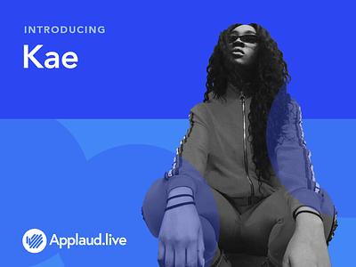 Applaud.live Act branding color transition logo visual design creative booking platform saas musician artist singer band gig act introducing social illustration