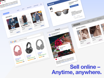 Sell online - Anytime, anywhere.