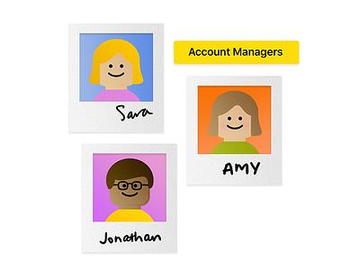 Teamwork! team teamwork careers page website graphic float semi-flat design illustration gradient website color transition colour transition