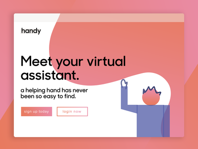 Virtual Assistant Homepage