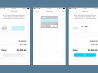 IOS Credit Card Concept