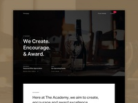 Academie Du Vin: Homepage