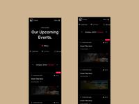 Academie Du Vin: Mobile Calendar