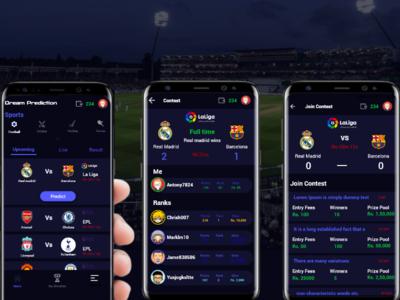 Sports Prediction app