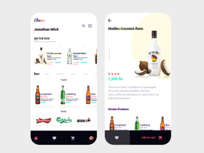 Liquor Delivery app