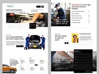 Car Service center website design