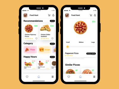 Food-Hunt Food delivery app