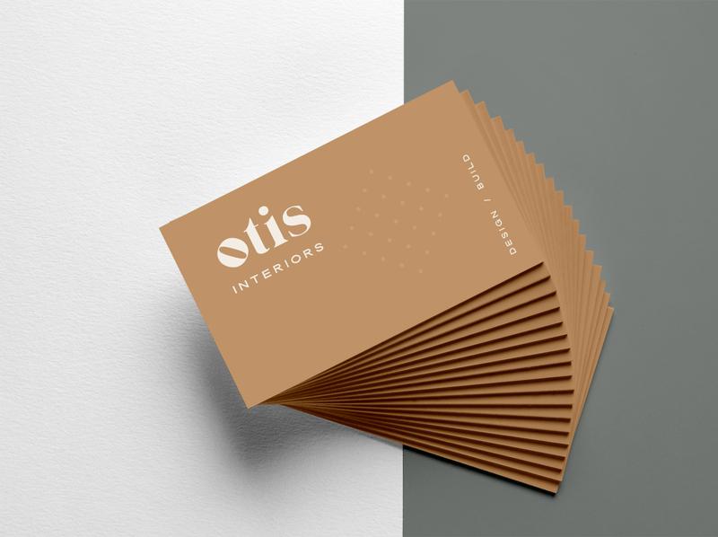 Otis Interiors Brand Identity Design design logo small business graphic design logo design brand design branding design brand identity branding brand