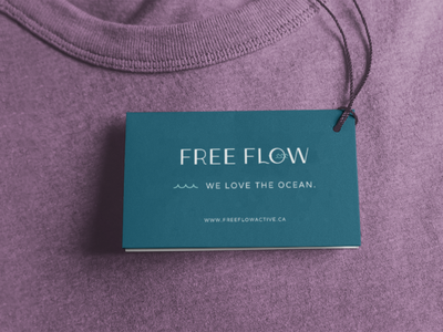 Free Flow Active Brand Identity brand illustration icon design brand packaging packaging brand design small business graphic design logo design brand identity branding