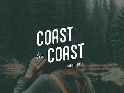 Coast to Coast Brand Identity Design submark brand design graphic design small business logo design brand identity branding
