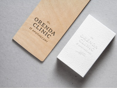 Orenda Clinic Brand Identity submark logo graphic design small business brand design logo design brand identity branding