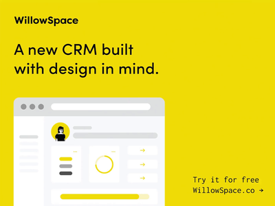 WillowSpace is a new CRM built with design in mind! invoice software proposals project management marketing manage clients invoicing contracts clients business tips business software business automation client management crm ui small business logo design graphic design brand identity branding