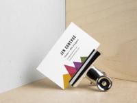 Business Cards for Jen Conshue Web Developer