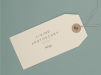 Living Apothecary Hangtag