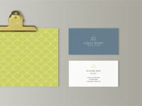 Lilli Pads Business Cards