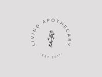 Living Apothecary herbal teas submark logo