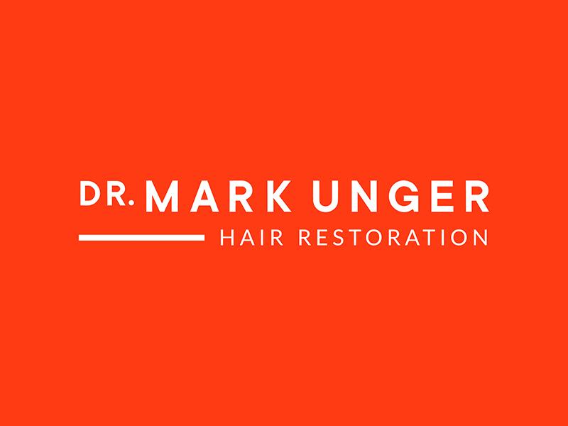Full logo for Dr. Mark Unger design small business logo graphic design brand design logo design brand identity branding