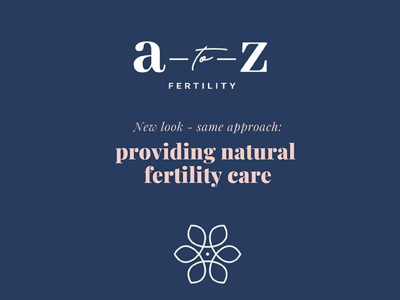 A to Z Fertility rebrand website design website brand illustration design illustration icon design small business logo graphic design brand design logo design brand identity branding