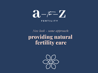 A to Z Fertility rebrand