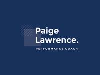 Paige Lawrence Performance Coach Logo
