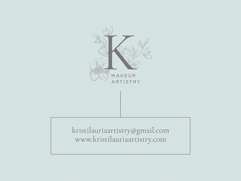 Kristi Lauria Artistry brand illustration illustration submark icon design design logo small business graphic design logo design brand design brand identity branding