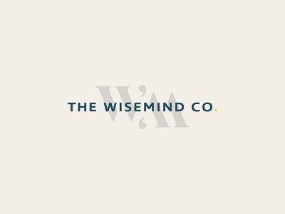 The Wisemind Co. design logo small business graphic design logo design brand design brand identity branding