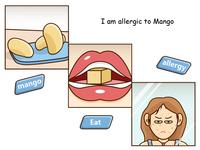Mango allergy