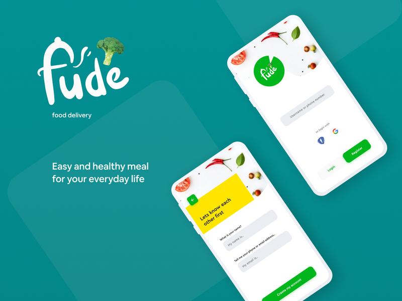 Food Delivery App (Fude) - Design Challenge