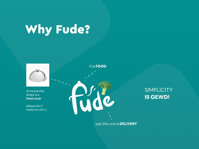 Why I named it Fude, it is actually really simple