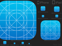 iOS 7 Icon Kit V2